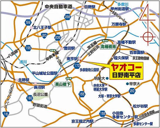 20171113yaoko 544x435 - ヤオコー/京王線南平駅最寄りに、目標年商22億円の標準店