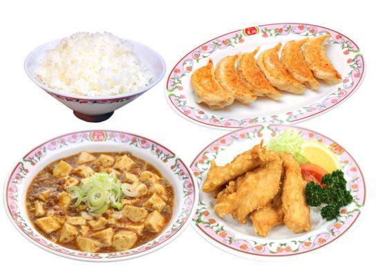 デラックス麻婆豆腐セット