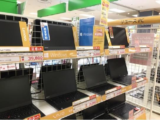 20171117geo2 - ゲオ/アリオ葛西にモバイル専門店を出店、格安スマホ拡充