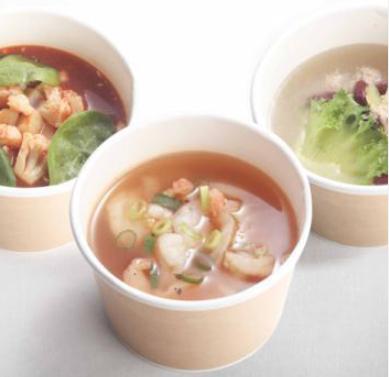 3種類のオリジナルスープ
