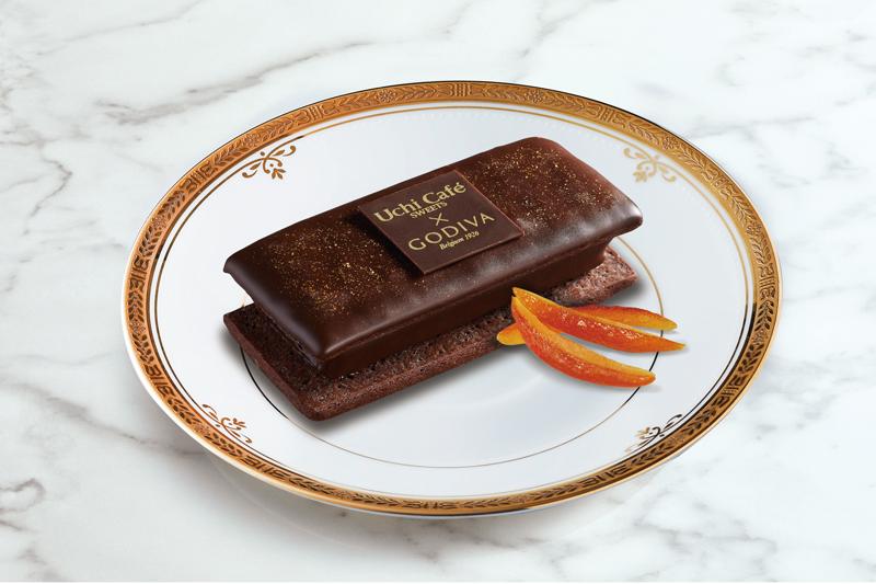 ローソン/ゴディバとコラボ「ショコラクッキーサンド」