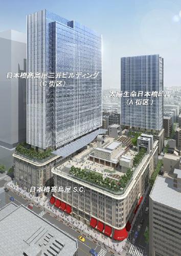 日本橋二丁目地区第一種市街地再開発事業A、C街区