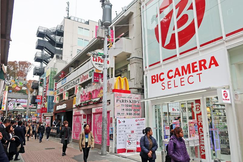 20171128bic 1 - ビックカメラ/家電構成比30%、原宿に新業態「ビックカメラセレクト」