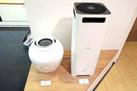 空気清浄機と加湿器