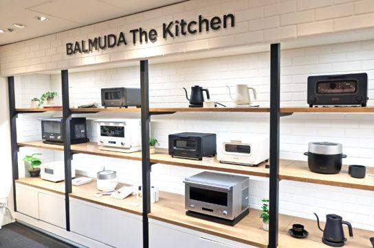 壁面に全キッチンシリーズを展示