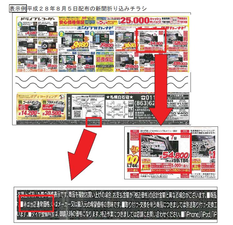消費者庁/イエローハットに景品表示法に基づく措置命令