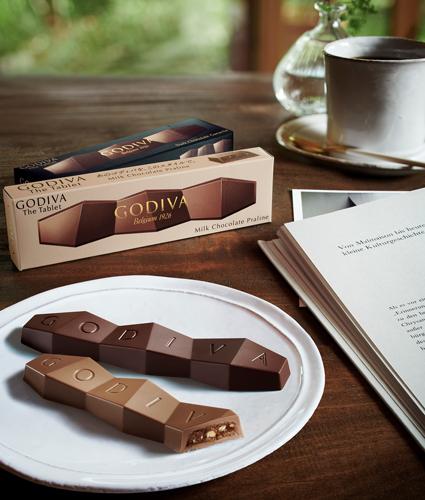 セブン‐イレブン限定/本格チョコを手軽に「ゴディバ ザ タブレット」