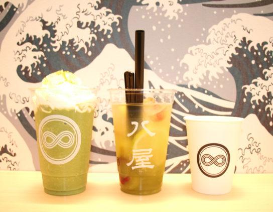 スムージー、煎茶ソーダ、ラテ