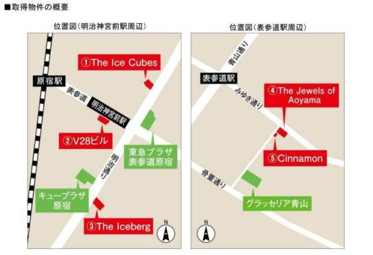 物件の周辺地図