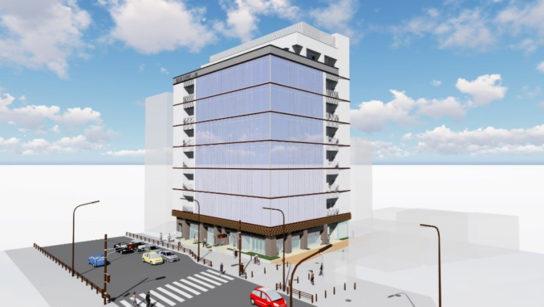建替え後のビル外観イメージ