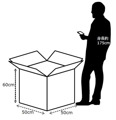 最大の箱サイズ50×50×60cm