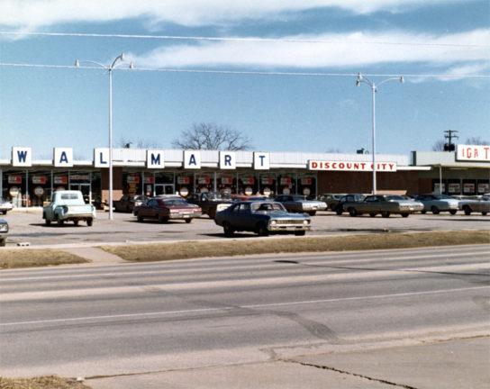 1970年代前半の店舗