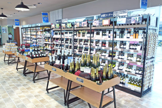 イオンリテールのワイン売場