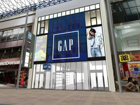 Gap三宮店