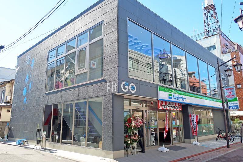 20180124famima 1 - ファミリーマート/大田区にフィットネス併設店舗、5年で300店目標