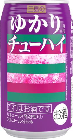 三井食品/赤しそふりかけ「ゆかり」を使用した缶チューハイ