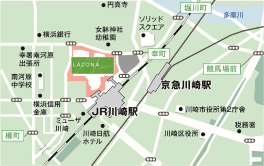 20180131razo6 544x342 - ラゾーナ川崎/2度目の大規模刷新、103店が新規・改装オープン