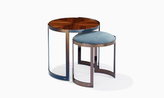 サイドテーブルとスツールANYA