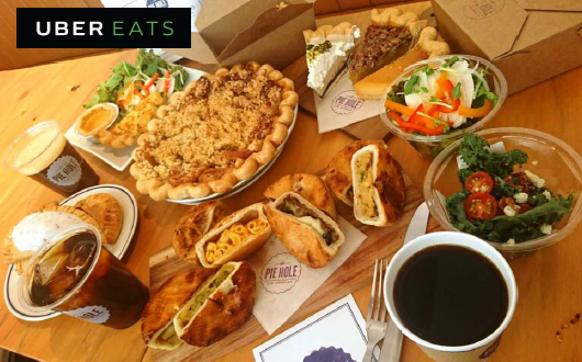 「Uber EATS」でデリバリー開始