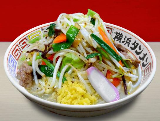 1日に必要な野菜摂取量350gが入った「横浜タンメン」730円(税抜)