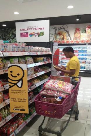 マレーシアで買物代行開始