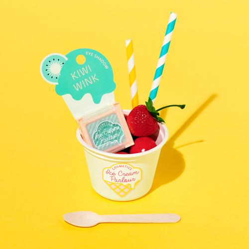 アイスクリームがモチーフ