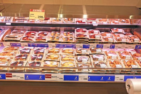 アウトパック商品の焼魚を新規導入