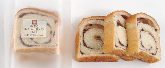 小さなあん入り食パン