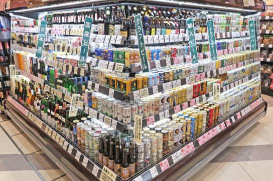 ビール・缶チューハイは冷蔵で販売