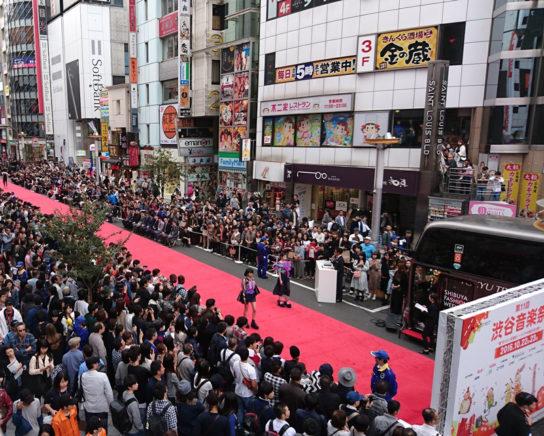 渋谷ファッションウイーク ファッションショー