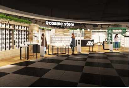 「@cosme store」の台湾4号店「微風南京店」