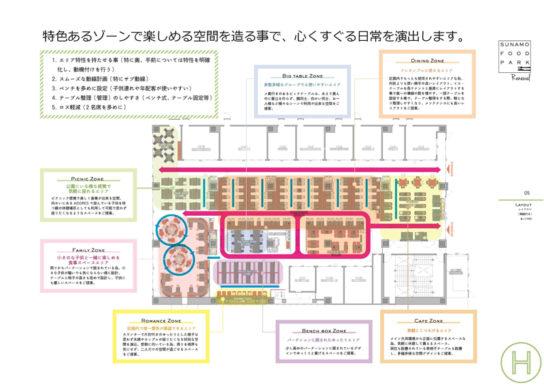 20180309suna2 544x386 - 南砂町SC「SUNAMO」/大規模リニューアル、フードコート504席に