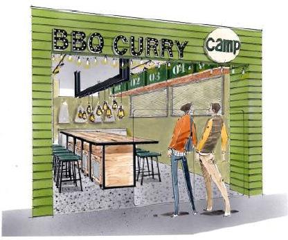 野菜を食べるBBQカレーcamp