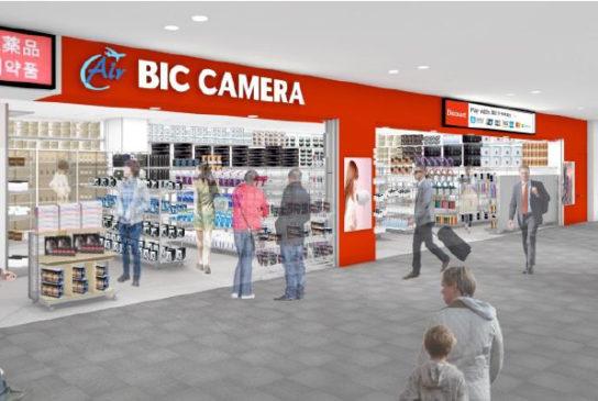 Air BIC CAMERA 中部国際空港セントレア店 1号店