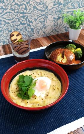 くら寿司/初の洋食メニュー、和洋融合の「カルボナーラ スパらッティ」