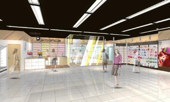「matsukiyo LAB」を併設したあべのキューズタウン店