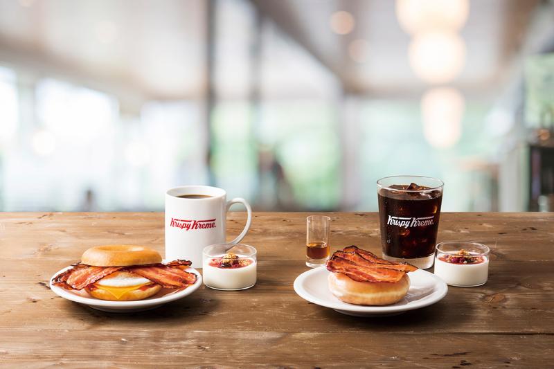 クリスピー・クリーム・ドーナツ/朝食メニュー開始、ハンドドリップコーヒーも