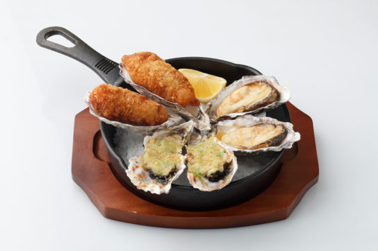 Oyster All Stars(Hot、税抜1480円)