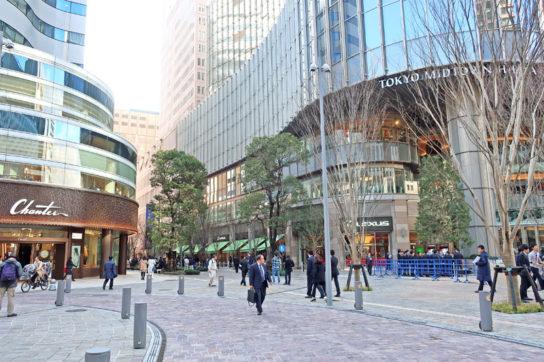 対面には、東京ミッドタウン日比谷