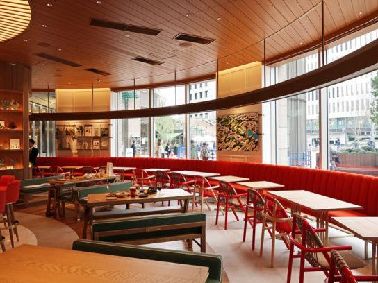 LEXUSの世界を食で表現したコンセプトカフェ