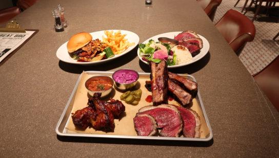 ジューシーで豪快な肉が楽しめる