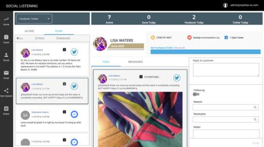 ソーシャルメディアを通じ、顧客からのニーズにリアルタイムに対応する革新的な機能