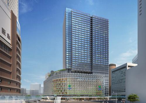 建て替え後の阪神梅田本店