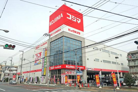 コジマ×ビックカメラの店舗