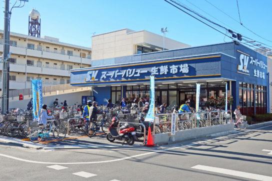スーパーバリューの店舗