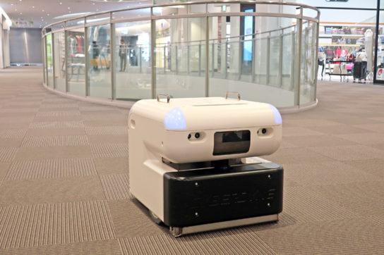 20180417mitsui 1 544x362 - 三井不動産/人手不足に対応、商業施設に「清掃ロボット」を導入