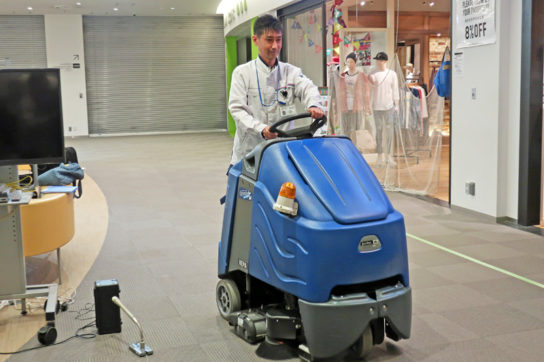 20180417mitsui 3 544x362 - 三井不動産/人手不足に対応、商業施設に「清掃ロボット」を導入