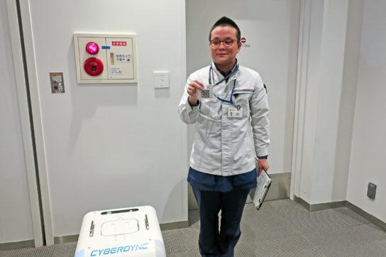QRコードを活用しロボットを起動