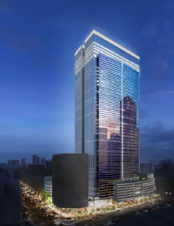 「ブルガリ ホテル 東京」(外観完成予想CG)