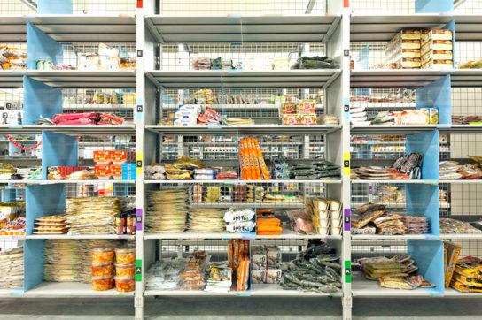 商品保管棚(冷蔵)